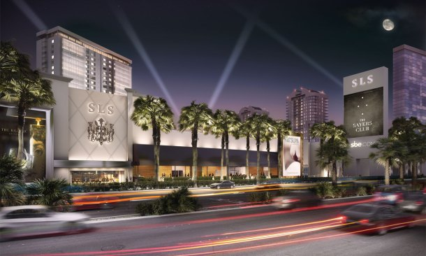SLS hotel and casino opens in Las Vegas