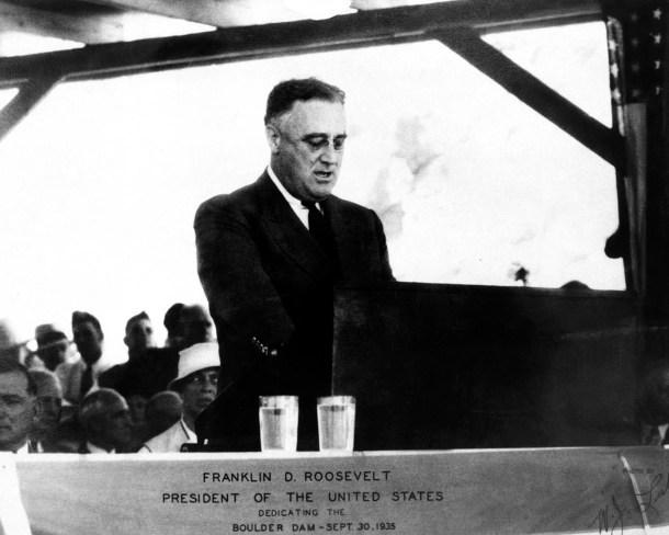 Hoover Dam Dedicated by President Roosevelt