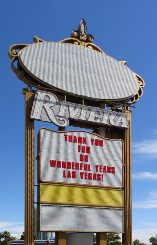 The Riviera Closes after 60 years