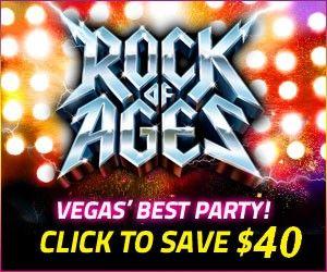 Rock Of Ages Discount Las Vegas