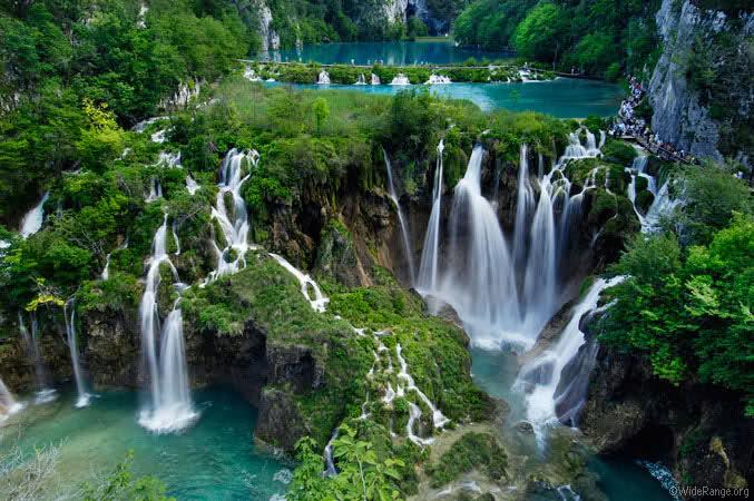 La nature incroyable Plitvice