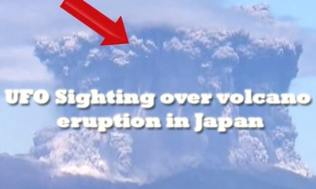 Volcano Japan UFO