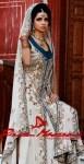 Beautiful Pakistani bridal dresses by Rizwan Moazzam