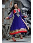 Blue frock combination for girls