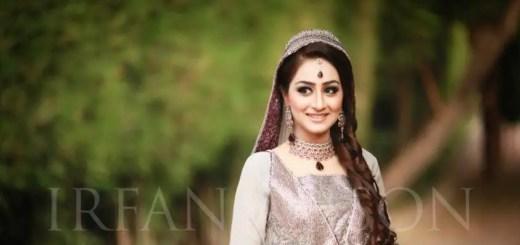 Bridal makeup for engagement and nikah