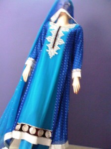 Pakistani embroidered frocks
