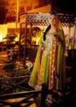 Stylish mehndi dresses for brides