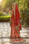 Lehnga design in tail style
