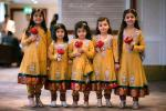 Pakistani kids party dresses