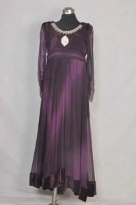 Purple chiffon dresses 2013