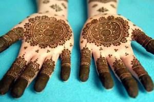 Arabic styles mehndi designs 2013