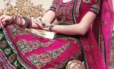 Indian bridal lehnga choli 2013