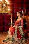 Red couture bridal dresses