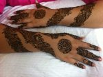 Stylish bridal henna designs for arms and hands