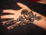 mehndi patterns for hands