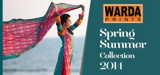 Warda designer collection 2014