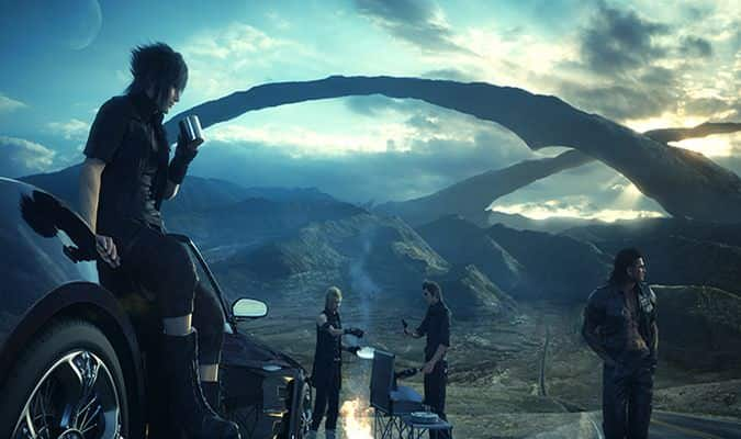 Final Fantasy XV PAX 2015 Active Time Report Details