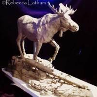 Moose Sculpture - Bronze in Progress