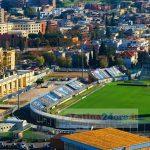 Lo stadio Francioni di Latina (foto Mario Rosario Iavarone)