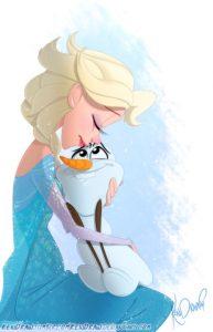 Elsa-Olaf-Frozen