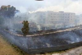 Ancora incendi nel cantiere della cittadella giudiziaria, si indaga sulle cause