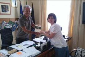 Il sindaco Coletta incontra la ricercatrice di Latina Ilaria Mogno