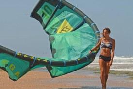 VIDEO Da Latina alla Francia, Francesca Bagnoli terza al campionato mondiale di Kitesurf