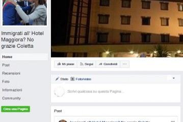 Immigrati all'hotel Maggiora di Latina, la bufala corre su Facebook