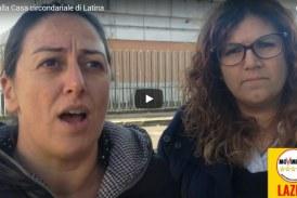 VIDEO Pernarella e Corrado (M5S) in visita nel carcere di Latina