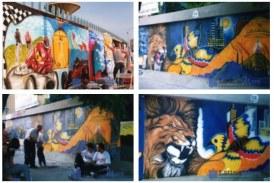 FOTO Muralia 20 anni dopo, quei disegni spariti che nessuno dimenticherà. Il writer: Un onore ricordare Giorgio