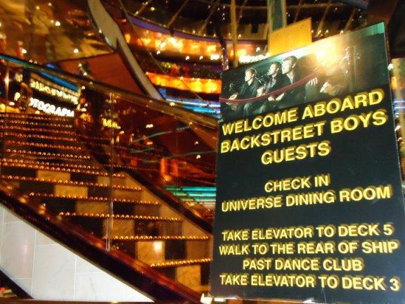 Backstreet Boys cruise