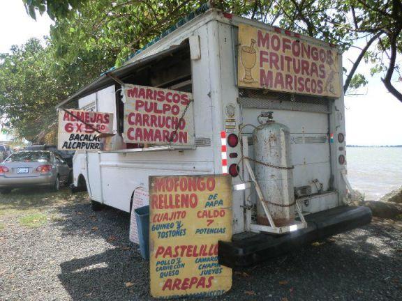 Puerto Rican food truck