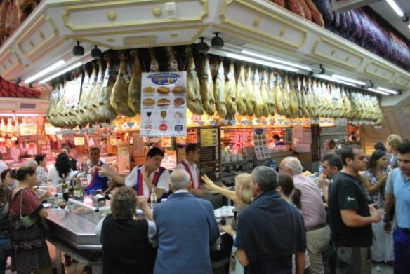 Spanish food Museo Del Jamon