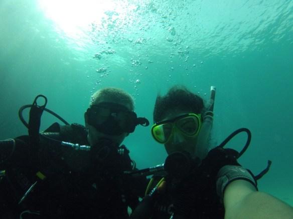 Rescue Diver course in Tioman, immersion