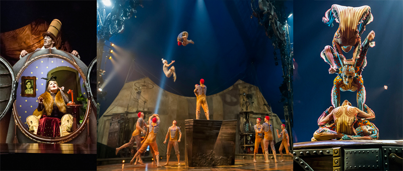"Imagination Gone Wild: Cirque Du Soleil ""Kurios, Cabinet of Curiosities"
