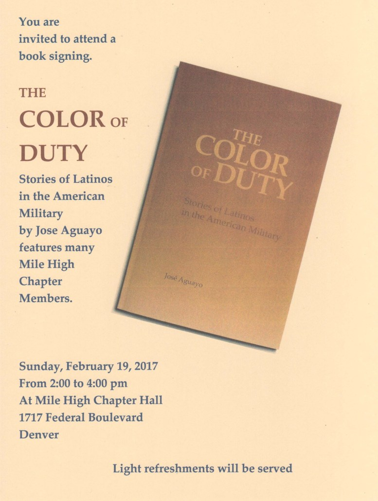 The color of duty