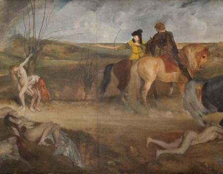 Degas Edgar (dit), Gas Hilaire-Germain Edgar de (1834-1917). Paris, musée d'Orsay. RF2208.