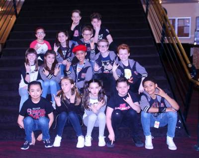 The kids of cast for School of Rock. Photo by Joe Contreras, Latin Life Denver Media
