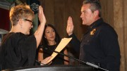 Denver new Chief of Police is sworn in at the City & County Building July 9, 2018
