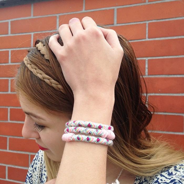 Headband tressé La Boutique du Coiffeur - Headband/bracelet La Touche Finale