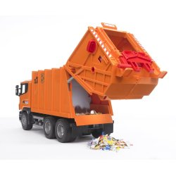 Small Crop Of Bruder Garbage Truck