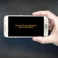 SAP und Windows mit einer Transaktion beenden