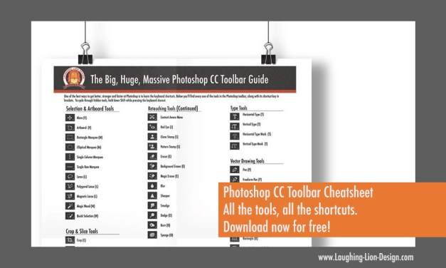 Get a free printable Photoshop Toolbar Cheatsheet Poster