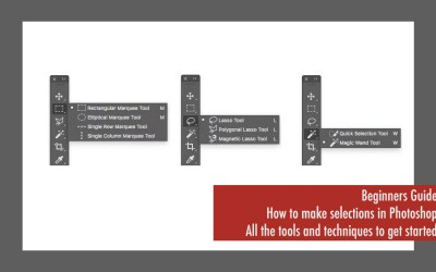 Beginners Guide: How To Use Photoshop's Selection Tools