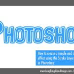 How To Make A Cute Double Stroke Text Effect In Photoshop