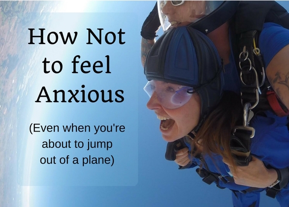 How not to be anxious