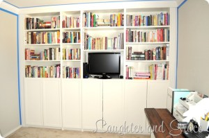 Ikea Hack – Billy Built-Ins