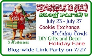 Christmas in July – Recap and Link Party