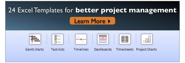 Project Management Templates from Chandoo.org