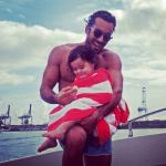 Aarón Díaz compartió un hermoso video de su familia